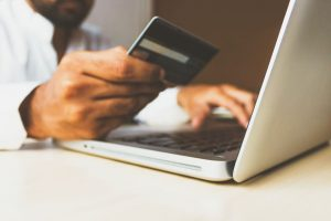 Three brains e-Commerce online purchase with credit card