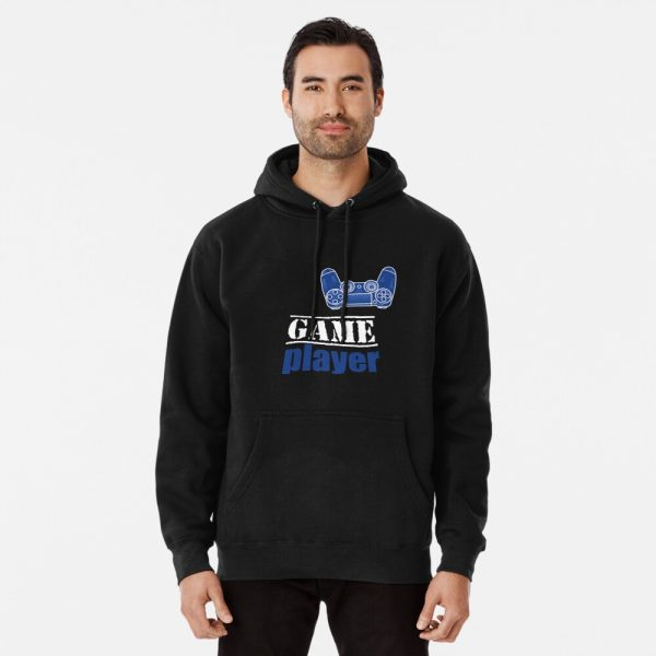 Game player - Blue Controller - Men's Hoodie Pullover - Redbubble